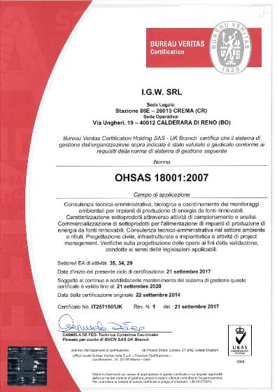 ohsas-10001-2007