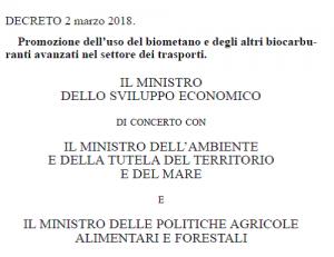 Decreto 2 maggio 2018